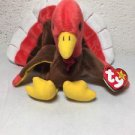 TY Beanie Babies Collection Gobbles the turkey retired