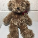 "GANZ STUFFED PLUSH BIG JESS TEDDY BEAR BROWN 16"" NWT CH1410"