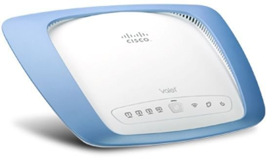 Cisco Valet (M10) 300 Mbps 4-Port 10/100 Wireless N Router Networking
