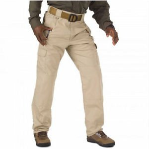 5.11 Tactical TACLITE PRO Pants Men's Cargo RipStop TDU KHAKI waist 46 Unhemmed