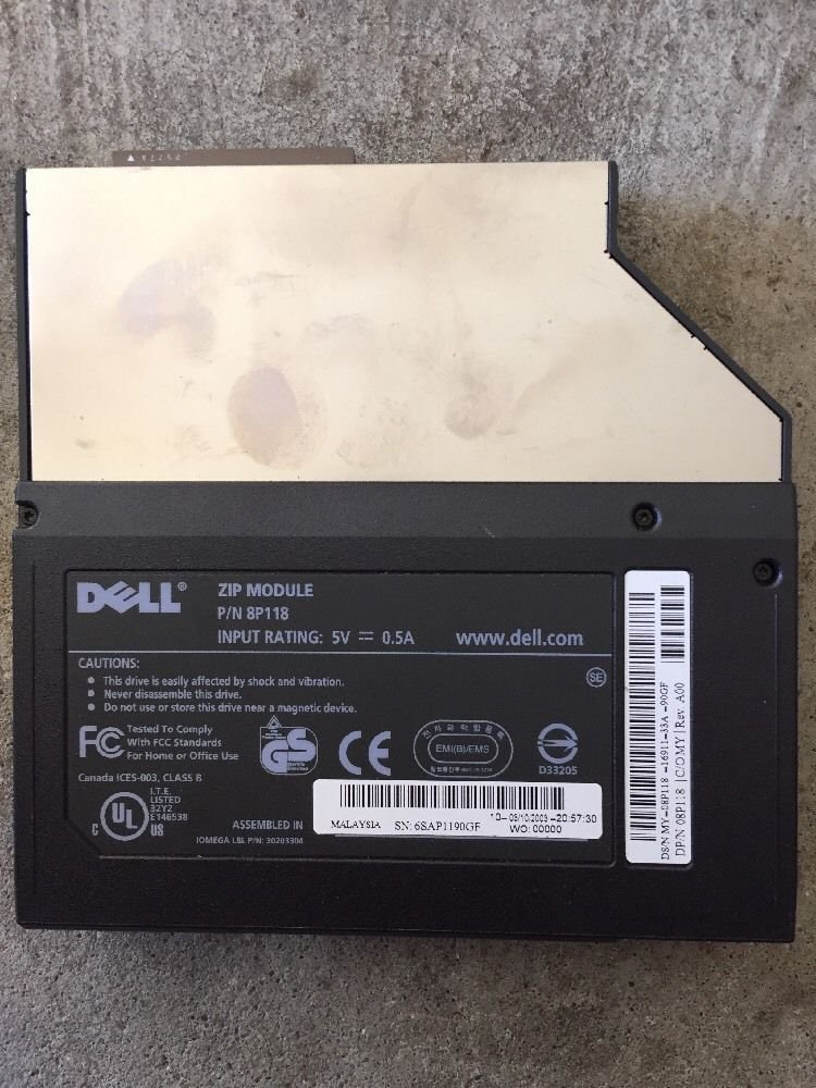 Dell 08P118 8P118 Laptop 250MB Internal ZIP Drive