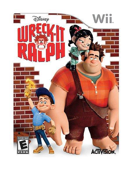 Wii NINTENDO WRECK-IT RALPH VIDEO GAME FUN FOR EVERYONE ~ EUC