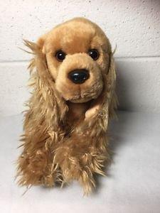 Ganz Webkinz Signature Cocker Spaniel Dog WKS1003 Stuffed Animal No Code
