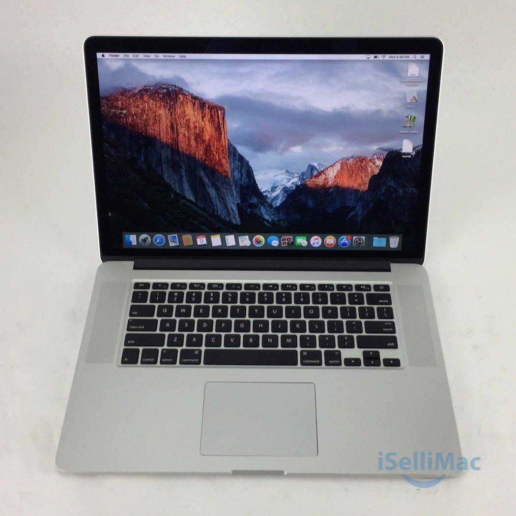 """Apple 2013 MacBook Pro Retina 15"""" 2.4GHz I7 256GB SSD 8GB ME664LL/A + D Grade"""