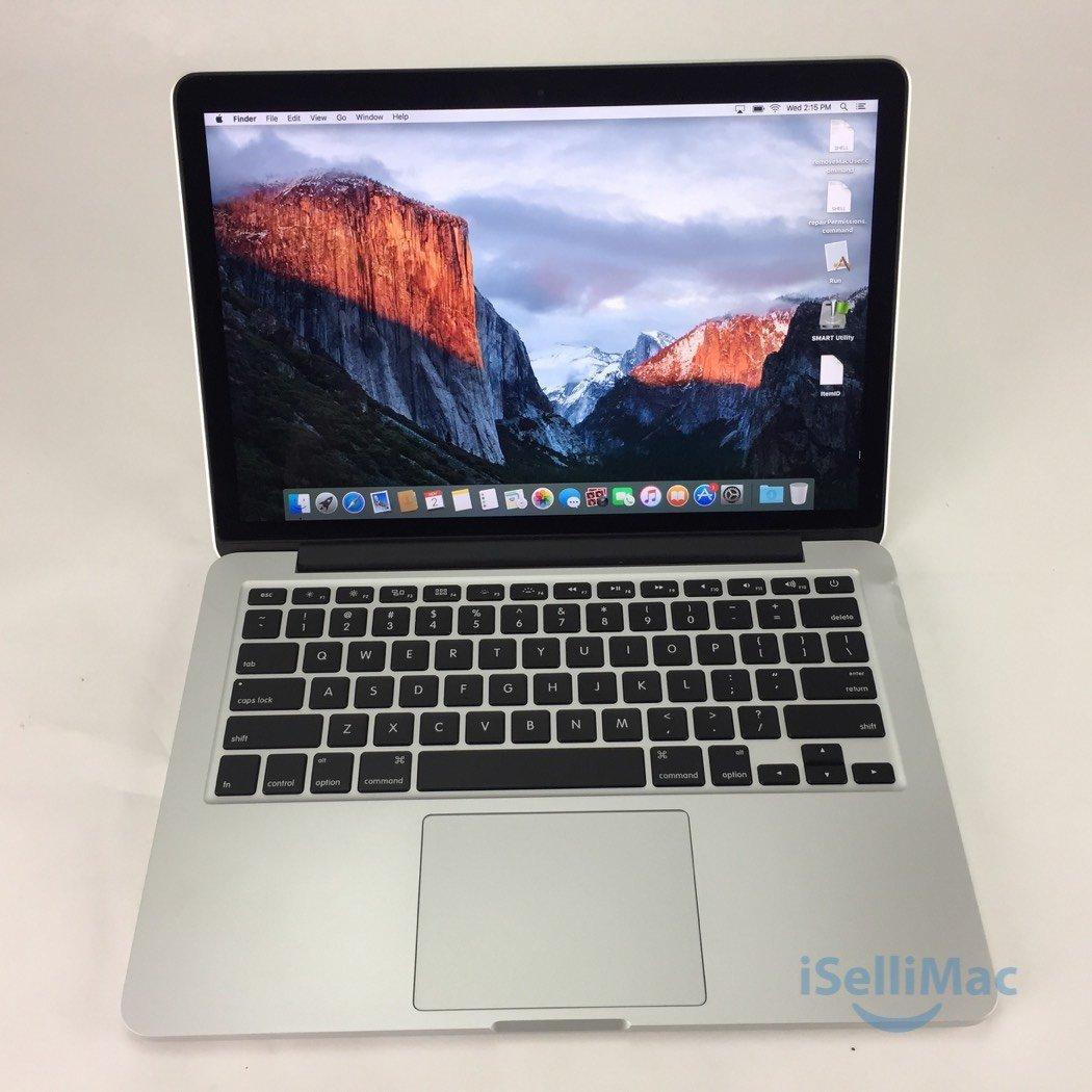 """Apple 2015 MacBook Pro Retina 13"""" 2.7GHz I5 256GB SSD 8GB MF840LL C Grade"""