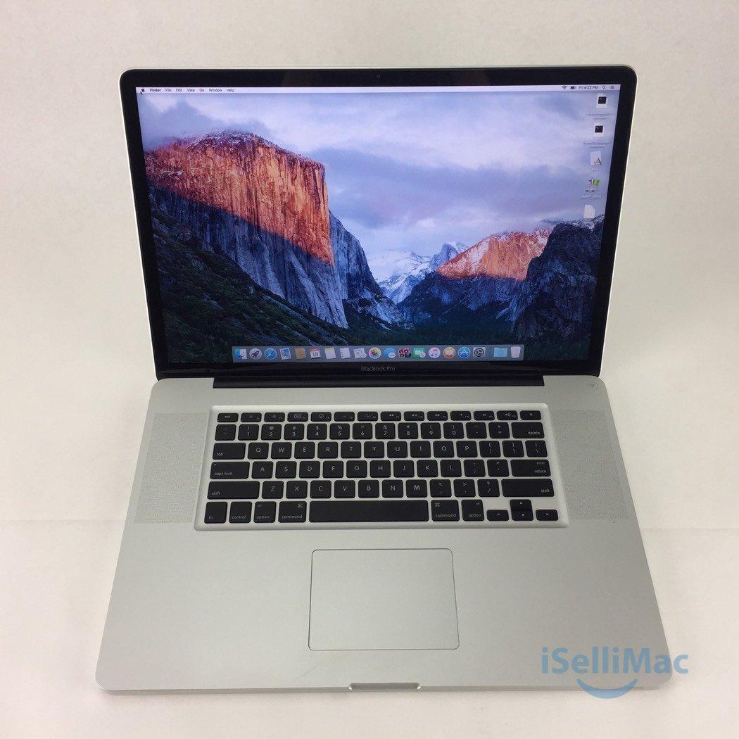 "Apple 2009 MacBook Pro 17"" 2.8GHz C2D 500GB 4GB MC226LL/A + C Grade + Warranty!"