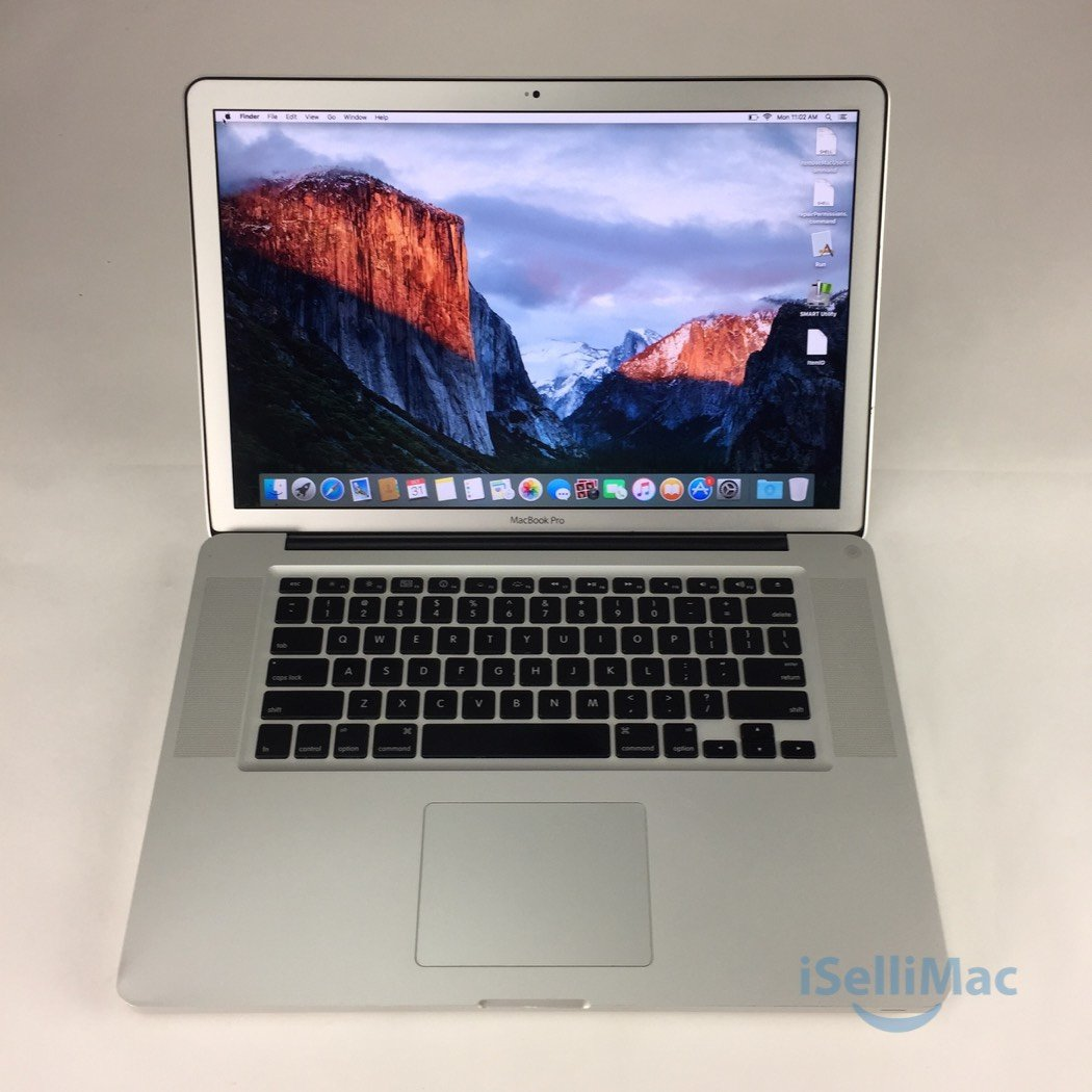 "Apple 2009 MacBook Pro 15"" 2.8GHz C2D 256GB SSD 8GB MB986LL/A + C Grade"