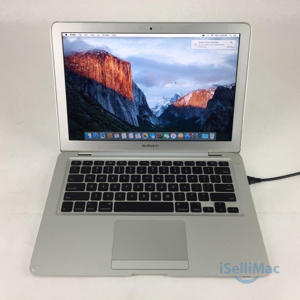 """Apple 2009 MacBook Air 13"""" 1.86GHz C2D 120GB 2GB MC233LL/A + D Grade + Warranty!"""