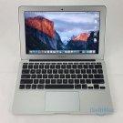 """Apple 2012 MacBook Air 11"""" 2GHz I7 256GB SSD 8GB MD224LL/A-BTO + A Grade"""