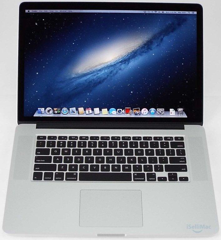 """Apple 2012 MacBook Pro Retina 15"""" 2.3GHz I7 256GB SSD 8GB MC975LL/A + B Grade"""