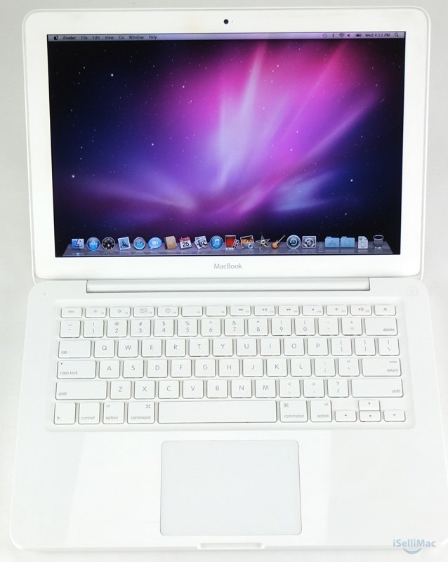 "Apple White MacBook Unibody 2009 13"" 2.26GHz 250GB 2GB RAM MC207LL/A + B Grade"