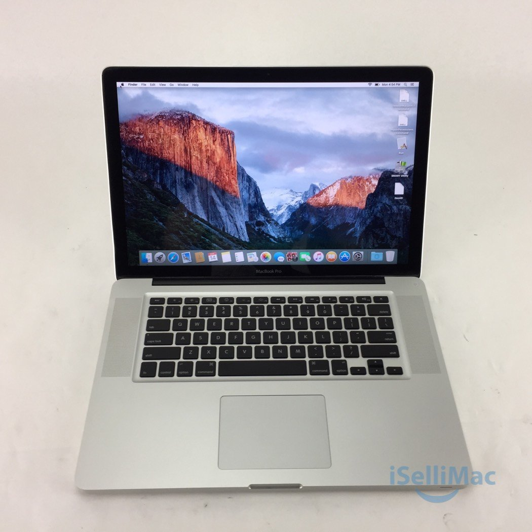 "Apple 2009 MacBook Pro 15"" 3.06GHz C2D 500GB 4GB MB986LL/A-BTO + C Grade"