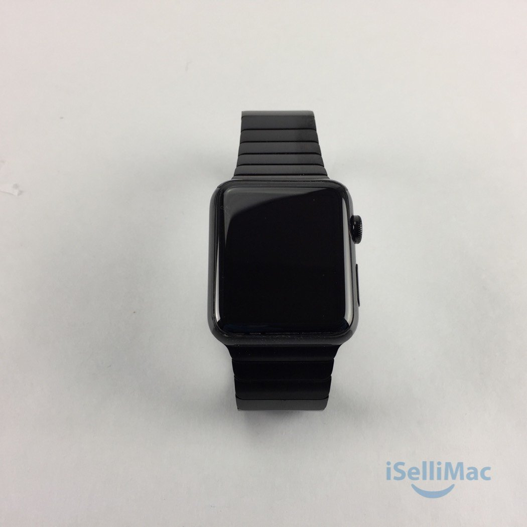 Apple WATCH 42mm Black Stainless Steel Case + Black Link Bracelet (MJ482LL/A)
