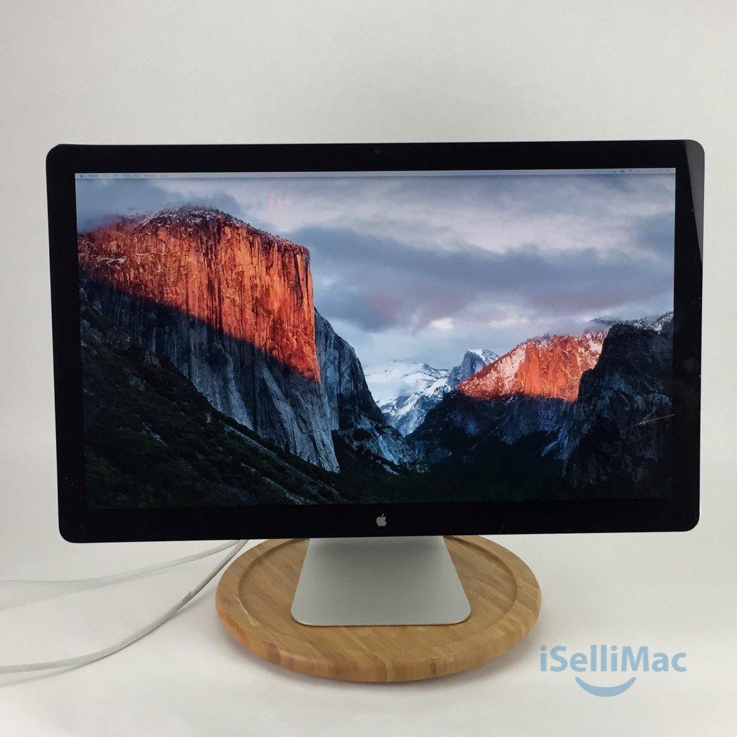 "Apple 27"" LED Cinema Display LCD MC007LL/A + C Grade + Free Shipping + Warranty!"
