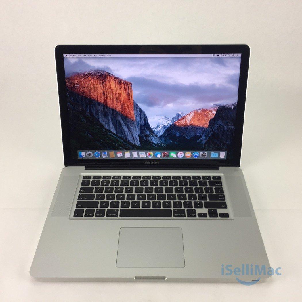 "Apple 2010 MacBook Pro 15"" 2.4GHz I5 320GB 4GB MC371LL/A + C Grade + Warranty!"