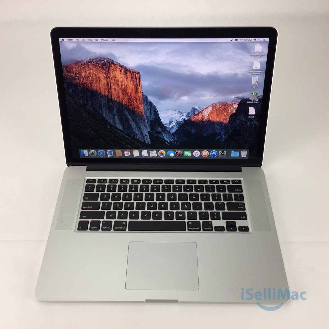 "Apple 2013 MacBook Pro Retina 15"" 2GHz I7 256GB SSD 8GB ME293LL/A + B Grade"