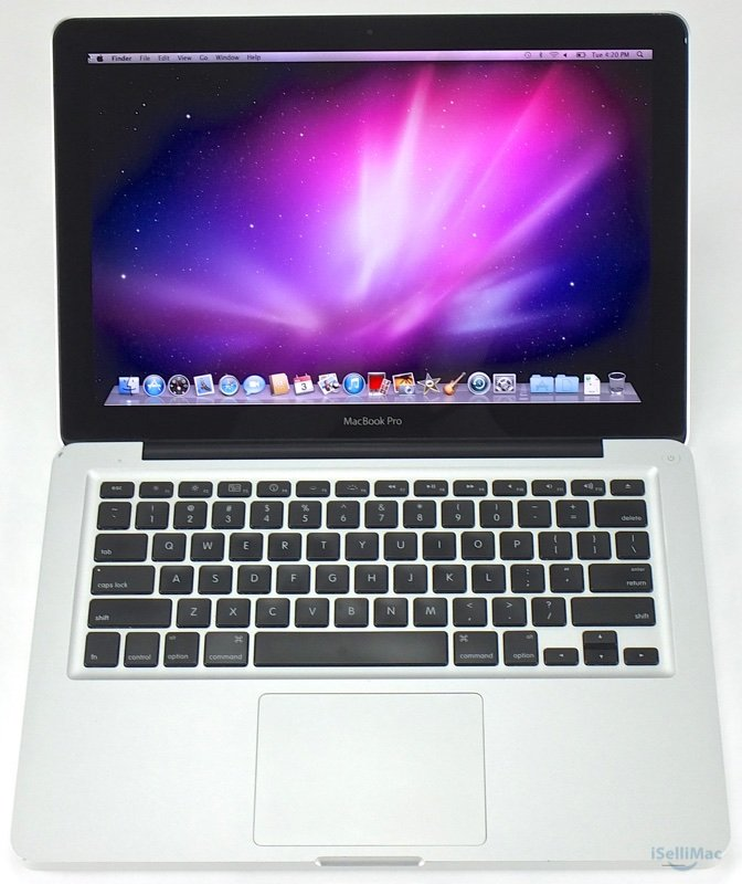 "Apple 2010 MacBook Pro 13"" 2.4GHz Intel C2D 250GB HD 4GB RAM MC374LL/A +Warranty"