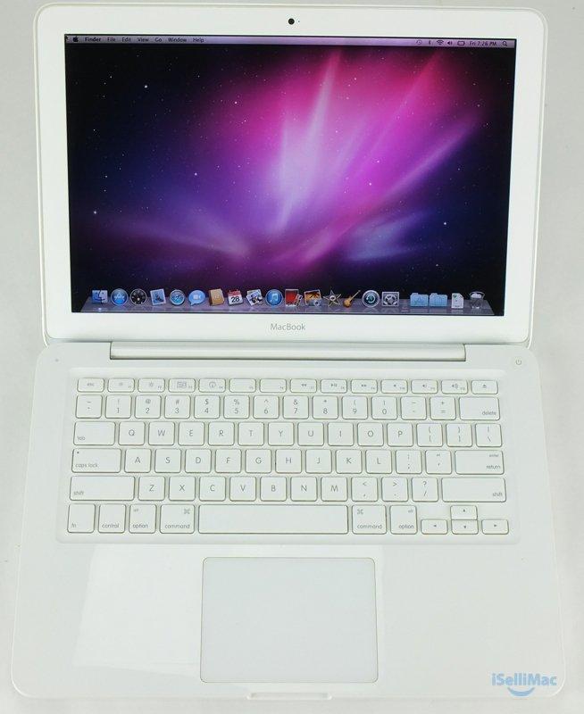 "Apple 2010 White MacBook Unibody 13"" 2.4GHz C2D 250GB 2GB MC516LL/A (C Grade)"