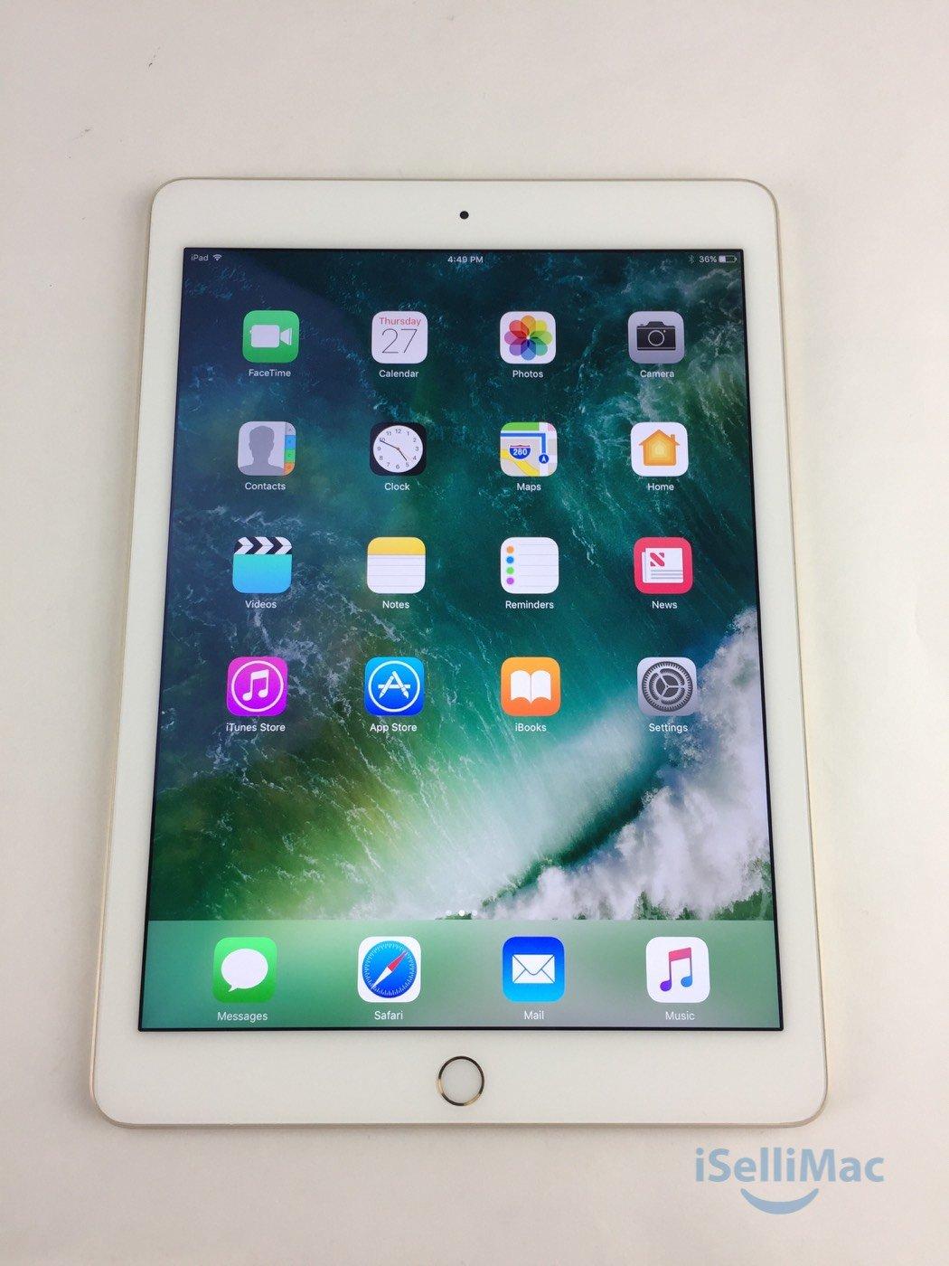 Apple IPad Air WiFi 64GB Gold FH182C/A + B Grade + Accessories + AppleCare+!