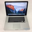 "Apple 2008 MacBook Pro 15"" 2.4GHz C2D 320GB 2GB MB470LL/A + C Grade + Warranty!"