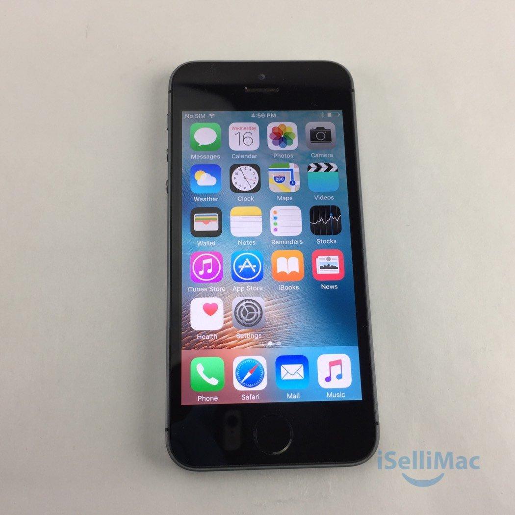 Apple Verizon IPhone 5s 16GB Space Gray NE341LL/A + GSM Unlocked + C Grade