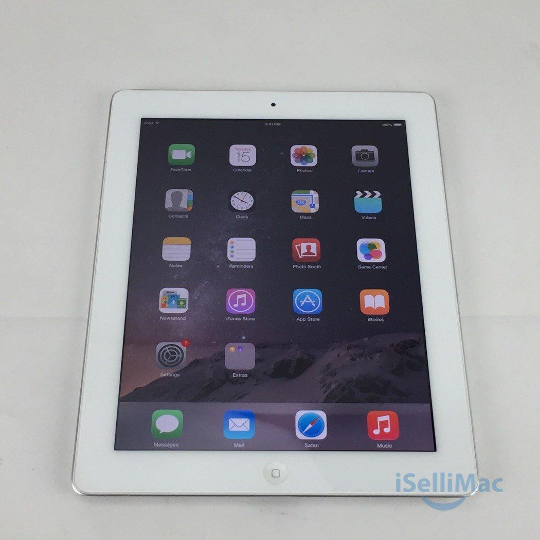 Apple IPad 2 2ND GEN WiFi 32GB White MC980LL/A + C Grade + Warranty!
