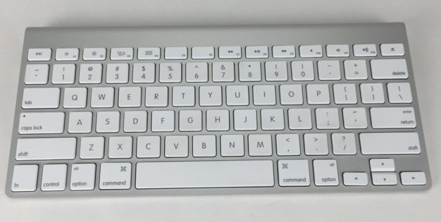 Apple OEM Aluminum Wireless Keyboard MC184LL/A (A1314) + Good Condition