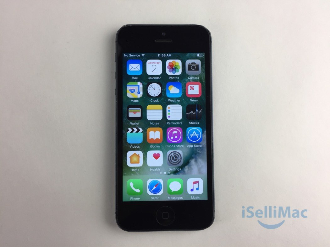 Apple AT&T IPhone 5 16GB Black MD638LL/A + C Grade + Accessories + Warranty!