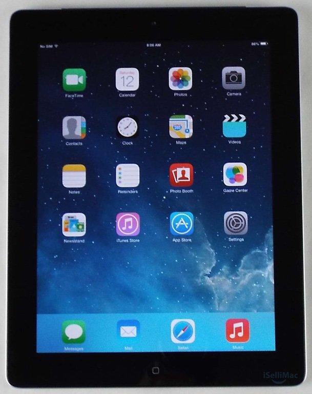 Apple AT&T IPad 2 2ND GEN WiFi + 3G 32GB Black MC774LL/A + Accessories + C Grade