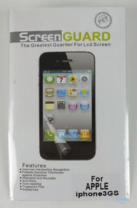 NEW Clear LCD Screen Protector Guard Shield for APPLE iPhone 3G/3GS  + WARRANTY!