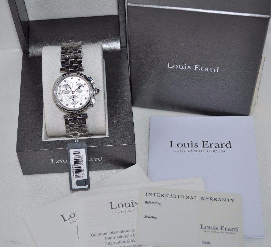 Louis Erard Women's 12820AA11.BMA25 Romance Silver-Tone Stainless Steel (307152)