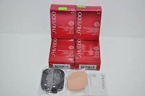 Shiseido Advanced Hydro-Liquid Compact Refill B100 Very Deep Beige LOT X4 (-449)