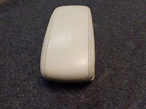 02-08 Jaguar X-Type - Sliding Front Center Console Armrest Leather OEM