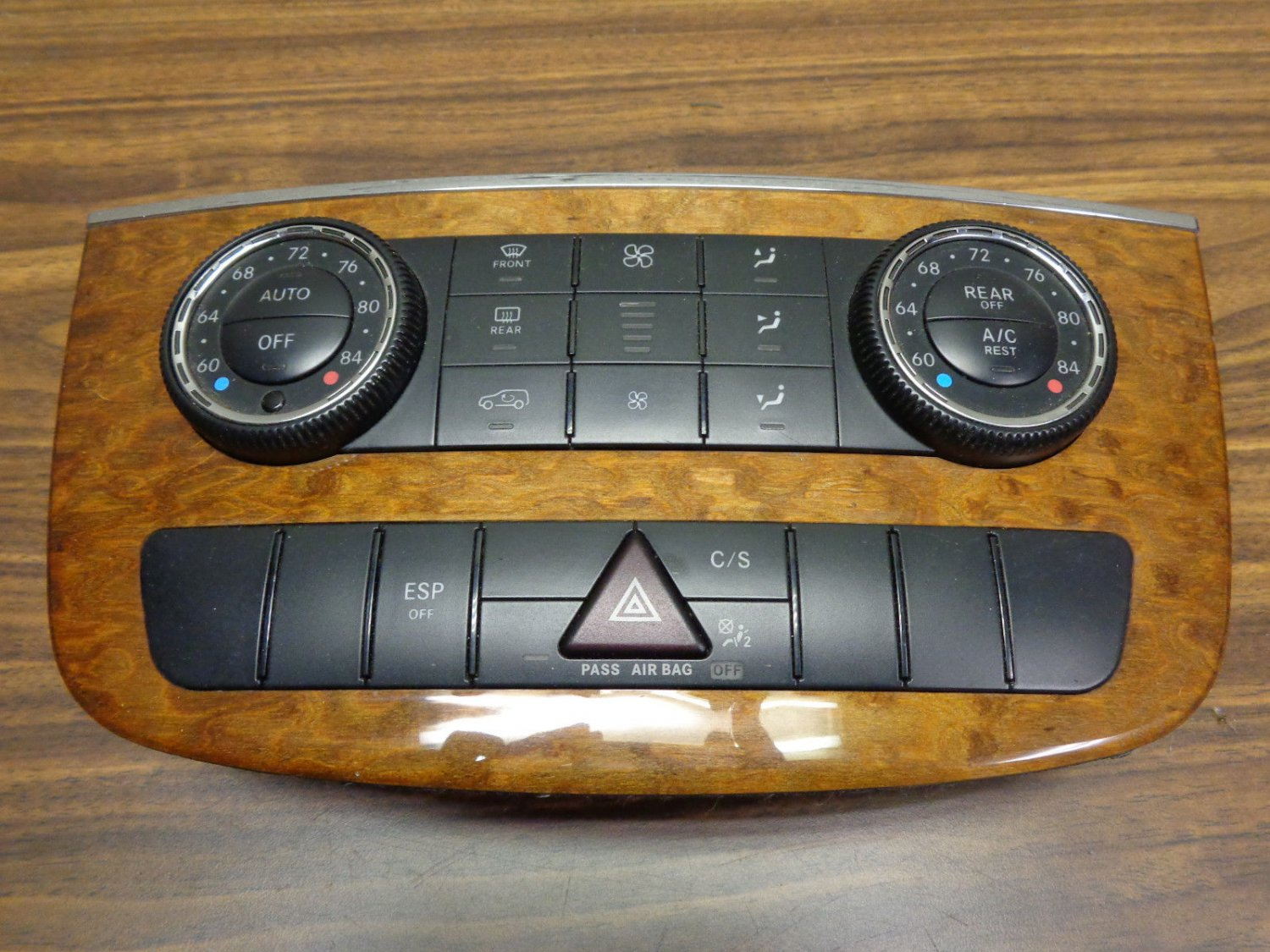 06-09 MERCEDES W251 R350 R500 AC HEATER TEMPERATURE CLIMATE ASSEMBLY OEM