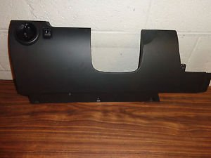 05-10 Beetle Black Under Steering Column Dash Trim Knee Bolster Panel