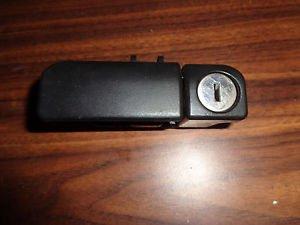99-03 MITSUBISHI GALANT 00-05 ECLIPSE GLOVE BOX LATCH BLACK OEM