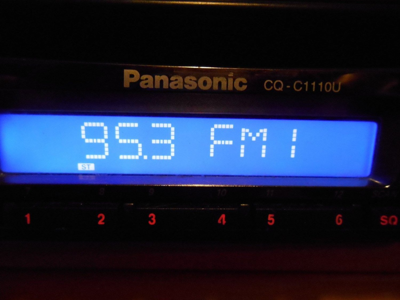 Panasonic CQ-C1110U am/fm cd player