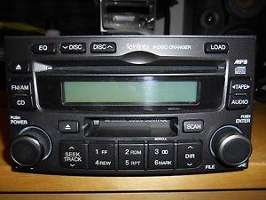 KMC Infinty Hyundai AM/FM 6 Disc CD Player Radio OEM 961702G100