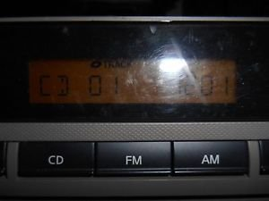 GRA536 2006 NISSAN ALTIMA RADIO CD PLAYER TUNER RECIEVER 28185 ZB10C