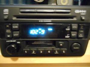 02 03 Infiniti QX4 Bose Radio 6 Cd Cassette Player PN-2543N CR190 PZ131