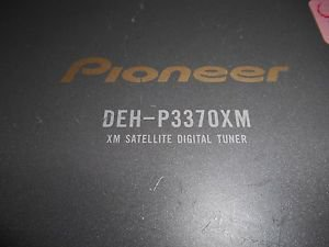 Pioneer DEH-P3370XM XM Satellite Tuner  Untested as found.