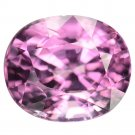 2.27 Ct. Oval Hot Pink Natural Spinel Aaa Luster Loose Gemstone With GLC Certify