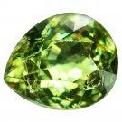 2.31 Ct Lustrous Best Green Russian Demantoid Garnet Loose Gemstone With GLC Certify