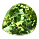 2.25 Ct Rare Best Green Russian Demantoid Garnet Loose Gemstone  With GLC Certify