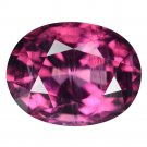 2.54 Ct. Natural Purple Pink Antique Cushion Spinel Loose Gemstone With GLC Certify