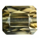 6.9 Ct. Vvs Natural Octagon Cut Green Tourmaline Loose Gemstone With GLC Certify