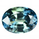 2.21 Ct. Unheated Natural Blue Tanzania Sapphire Gems Loose Gemstone With GLC Certify