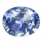 3.06 Ct. Vvs Cornflower Blue Unheated Oval Sapphire Loose Gemstone With GLC Certify