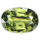 3.03 Ct. Natural Green Sapphire Thailand Loose Gemstone With GLC Certify