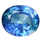 2.34 Ct. Lovely Oval Royal Blue Color Unheated Sapphire Loose Gemstone With GLC Certify